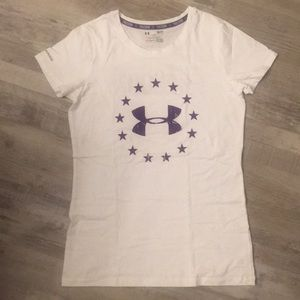 Under Armour FREEDOM Charged Loose T-Shirt Small